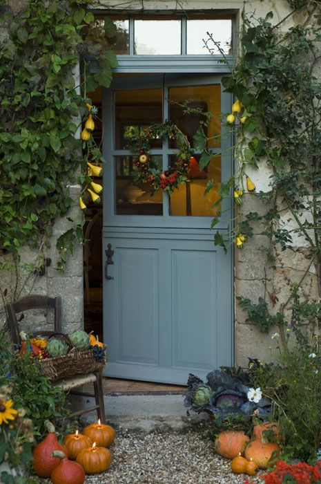 Image detail for -Encore! Life, | ♕ | Autumn entry | via somewhere71 |... stable door