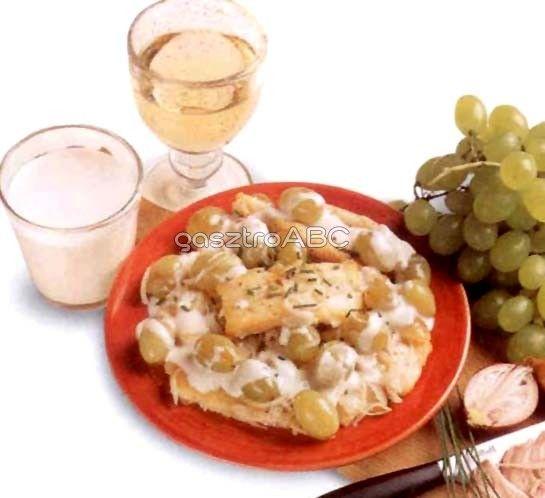 Tengeri sügér szőlőszósszal | Receptek