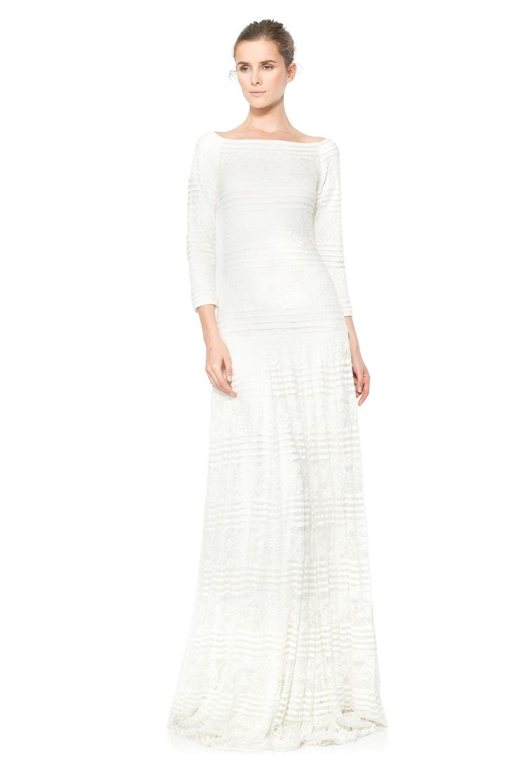 328 best tadashi shoji dresses images on pinterest for Tadashi shoji wedding dresses