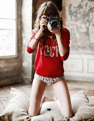 Freja Beha pour Glamour France Les Brèves - Tendances de Mode Film Photography Blog http://AnatomyFilms.com
