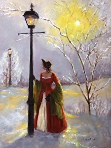 The Dawn of new Day by Catherine Marchand Oil ~ 24 x 18