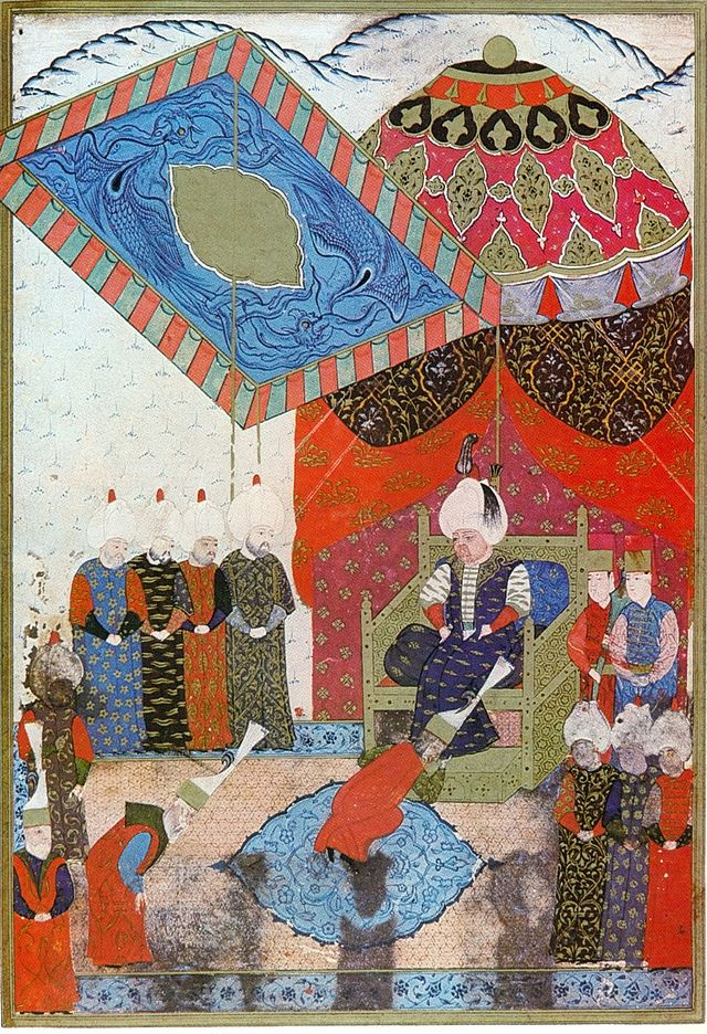 Selim II ascends to the throne