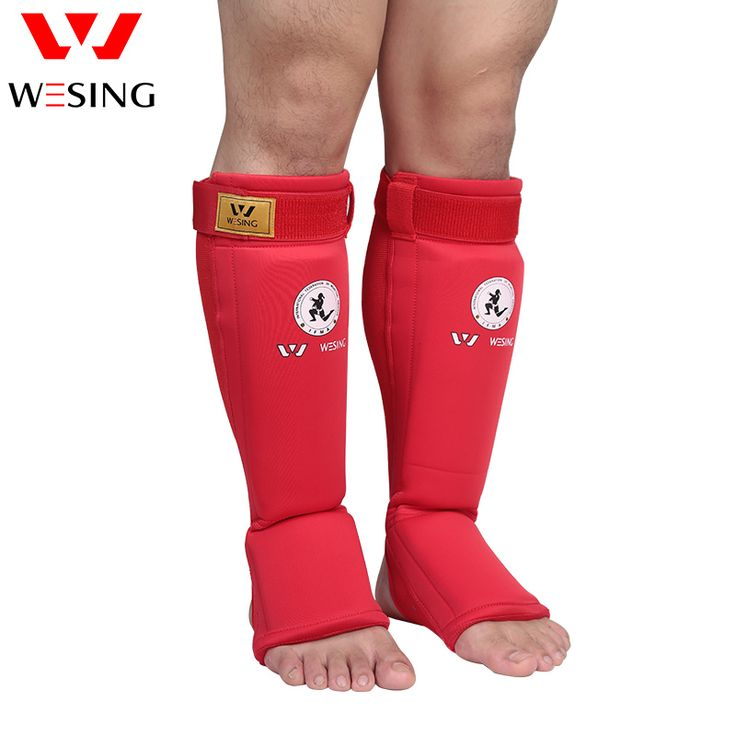 sale muay thai boxing shin pad wesing muay thai shin and instep guard for competition or #muay #thai #pads