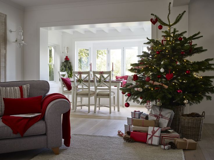 The Perfect View On Christmas Day From The Dining Table   The Cold Winter  Outside And
