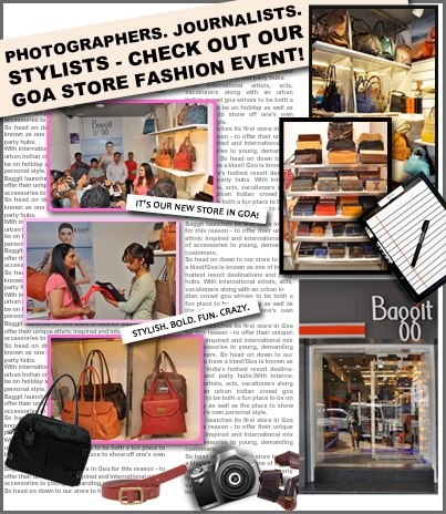 Baggit is thrilled to begin a new fashion journey.