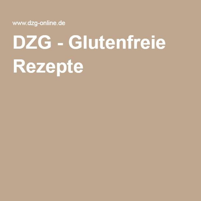DZG - Glutenfreie Rezepte
