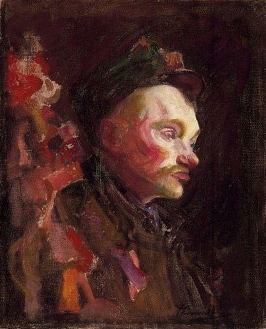 Thorma János (1870-1937) - Male portrait