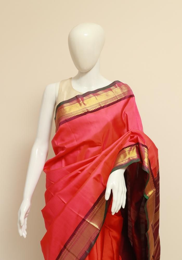f14258c9ea8638 Kanchipuram Silk Saree – Desically Ethnic | All things beautiful ...