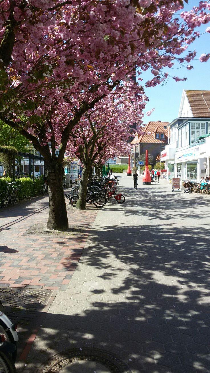 Town-center/ Stadt Borkum
