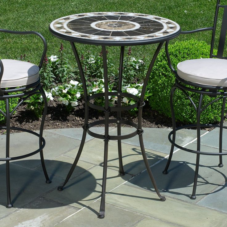 small elegant peerless round table and stools bar height patio furniture wicker an essential element to