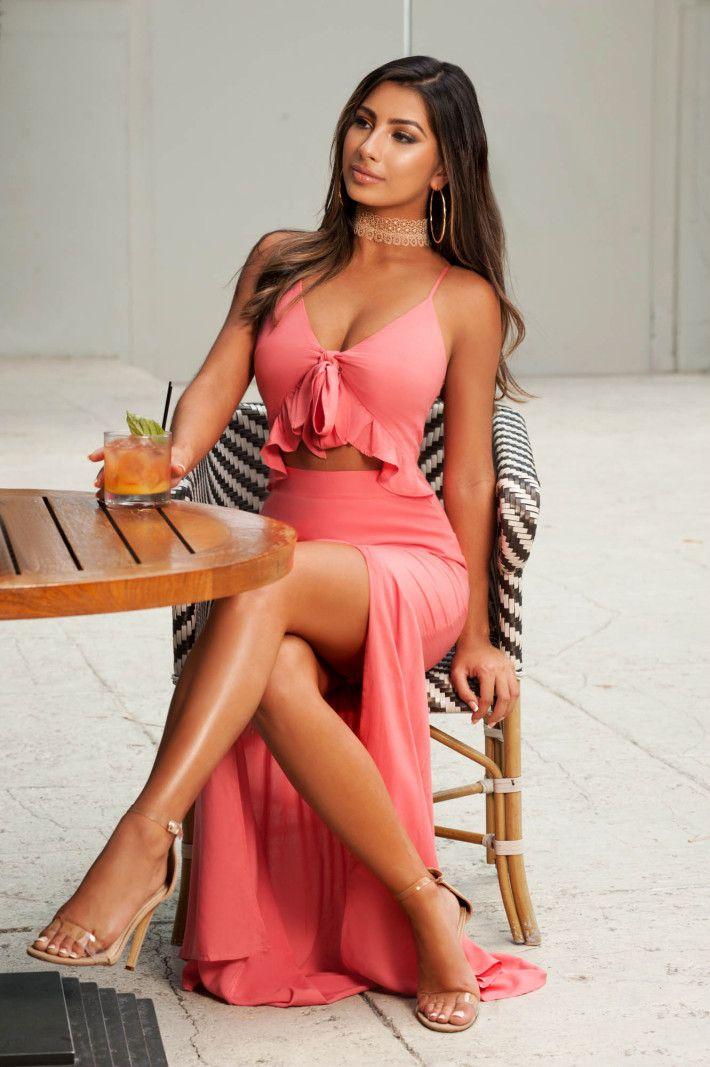 Sexy womens miami style tops
