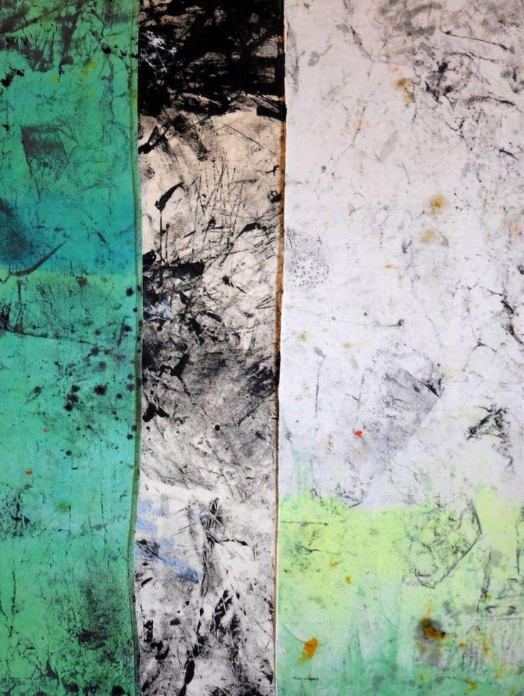 """Saatchi Art Artist Steve Byrnes; Painting, """"Lagoon"""" #art"""