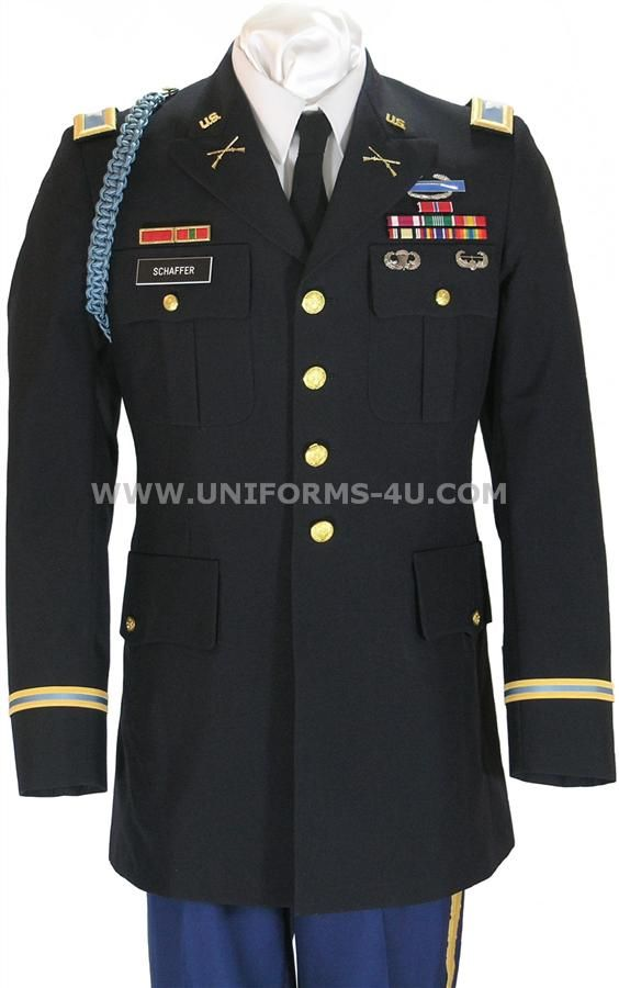 Image Detail for - US ARMY OFFICER MALE BLUE ARMY SERVICE UNIFORM - ASU