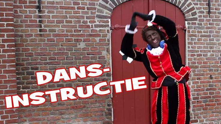 Dans instructie van De Sint Shake - Party Piet Pablo