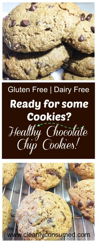 Oat Flour, Coconut Oil and Enjoy Life Brand Chocolate work as a team in these clean eating cookies!  Double the batch- because they will be gone!