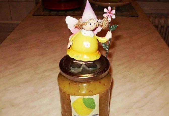 Almás körtelekvár ánizzsal és mézzel