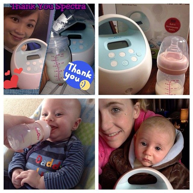 Some of our very happy #happybirthdayspectra competition winners, absolutely in love with their new S1 breast pumps! Order yours today at spectra-baby.com.au! #breastfeeding #spectra #breastpumps