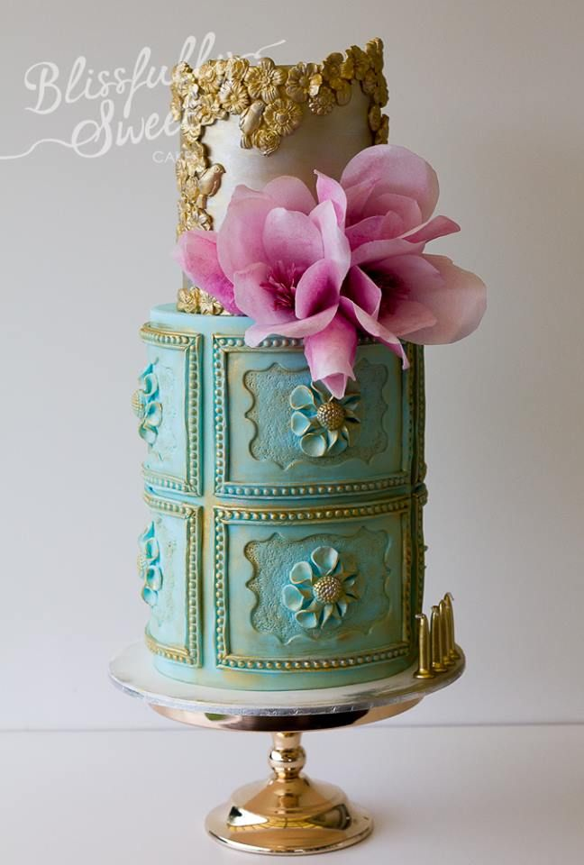 1249 best Cakes images on Pinterest Anniversary cakes Beautiful