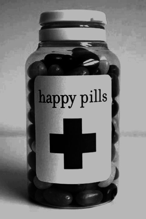 """My mom used to ask if there was """"a happy pill"""" for times when any of us were feeling down..."""