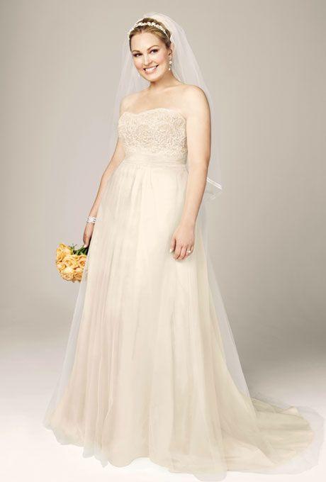 Awesome  Designer Plus Size Wedding Dresses