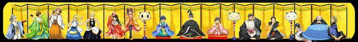 Tags: Fanart, Amagi Yukiko, Satonaka Chie, Shin Megami Tensei: PERSONA 4, Shirogane Naoto, Kujikawa Rise, Margaret (PERSONA 4), Narukami Yu,...