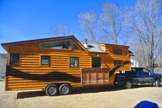 It's amazing how many inquiries I get whether we can build a house on a 50' flatbed trailer, or a 12'x40' house on wheels, or perhaps a 40 foot gooseneck trailer that is still highway legal width. ...