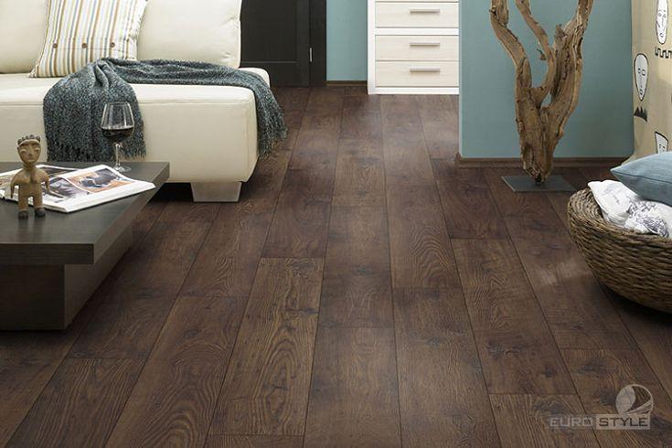 EUROSTYLE Antique Chestnut Laminate Floors - German Laminate Flooring in Vancouver BC Canada