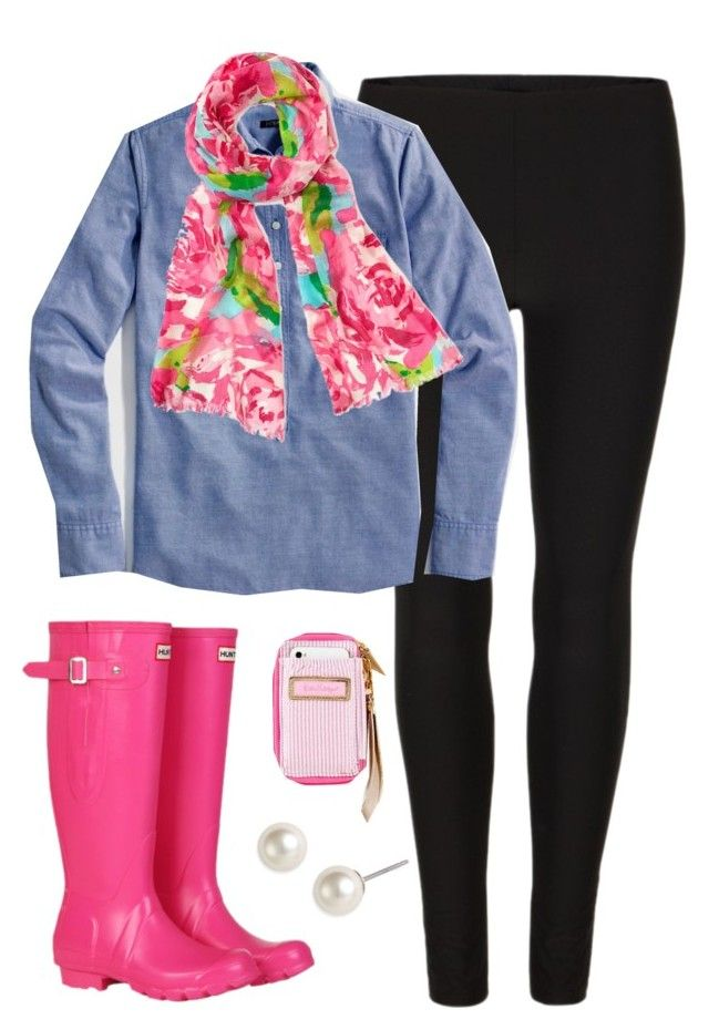 """""""First Impressions"""" by classically-preppy ❤ liked on Polyvore featuring AllSaints, Hunter and Givenchy"""