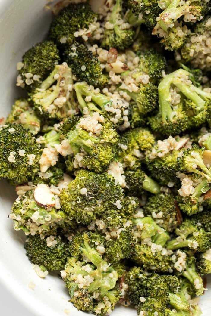 Creamy Vegan Broccoli Quinoa Salad Simply Quinoa Recipe Simply Quinoa Broccoli Quinoa Salad