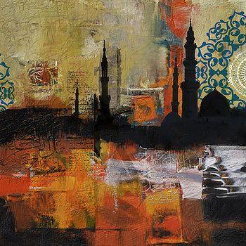 Corporate Art Task Force - Badshahi Mosque Motives