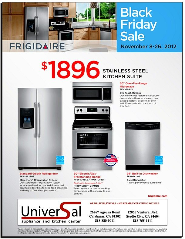Kitchen Appliances Packages On Sale