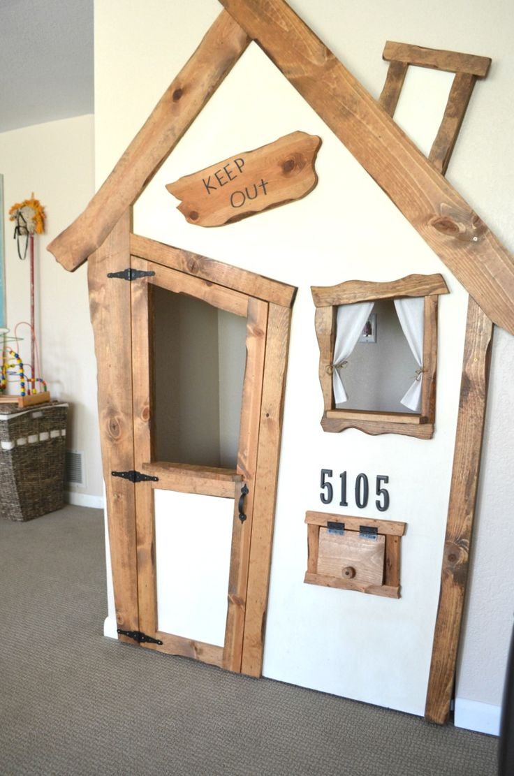 25 best ideas about indoor playhouse on pinterest diy for Diy indoor playhouse