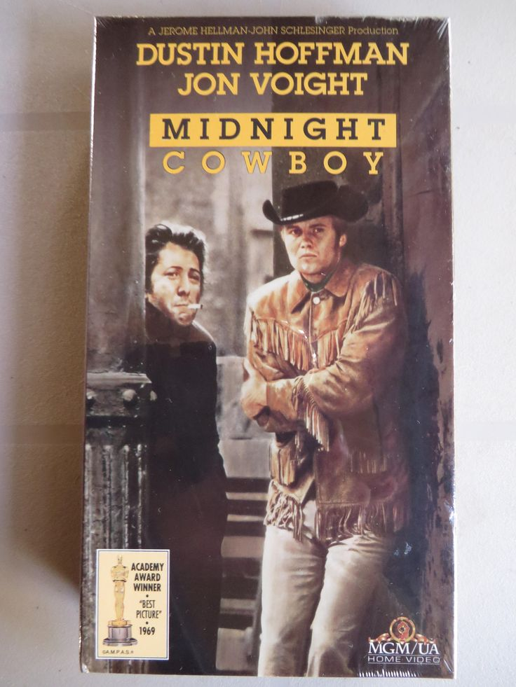 Excited to share the latest addition to my #etsy shop: Brand New Sealed ' Midnight Cowboy ' Vintage VHS 1969 Movie - 1992 MGM Release - Jon Voight - Dustin Hoffman - Old New Stock http://etsy.me/2BFibSR #everythingelse #birthday #christmas #newvhstape #midnightcowboy #oscarw