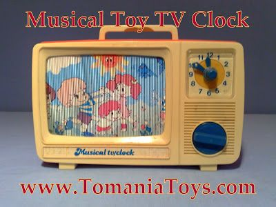 Musical TV Clock Toy HongTom's Toy World - TomaniaToys Made in Hong Kong