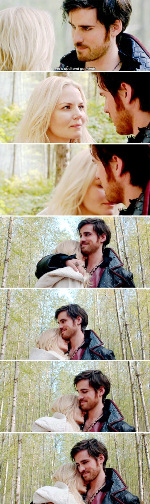 "Hook and Emma - 5 * 8 ""Birth"" #CaptainSwan"