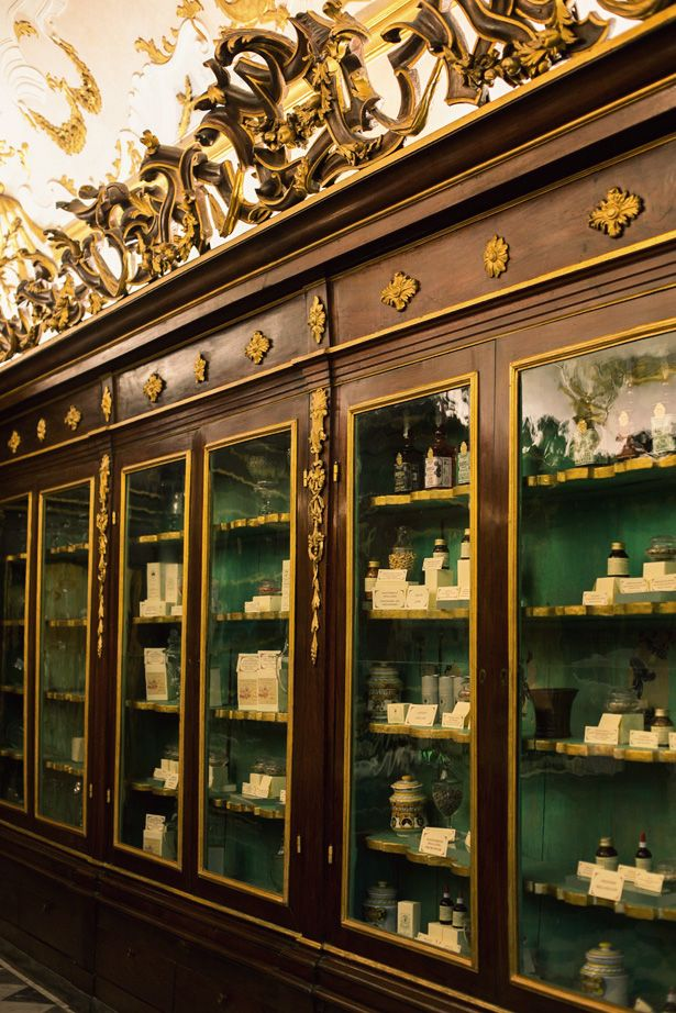 Farmaceutica di Santa Maria Novella: Everything made here is an all natural, hand-crafted work of olfactory art, instructed by aged artisanal recipes.