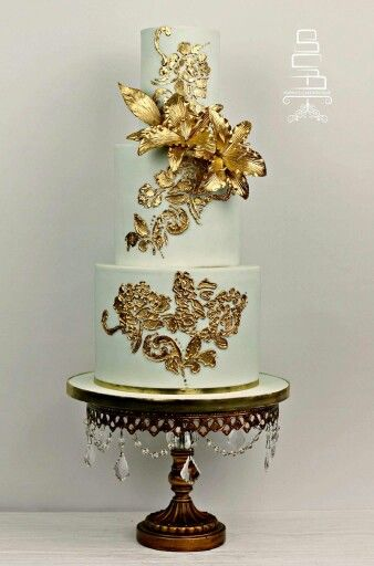 Mint Wedding Cakes Pinterest