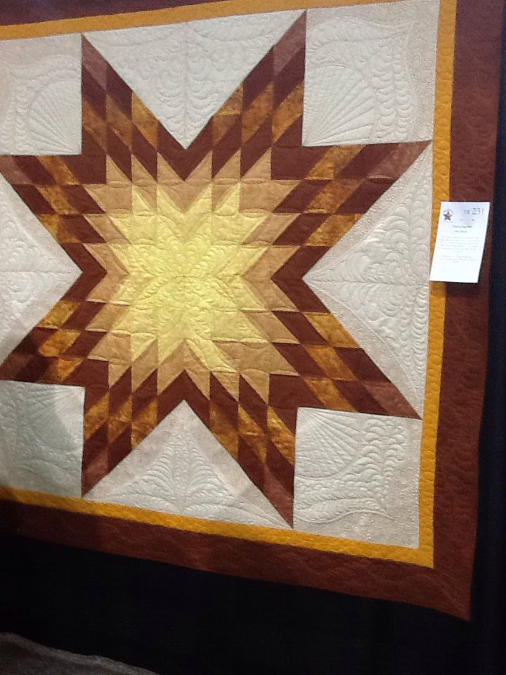 My lone star quilt.