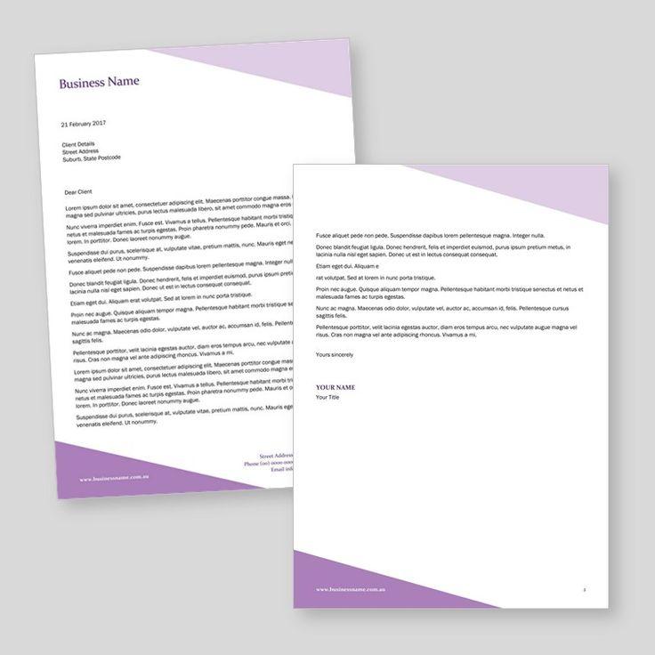 Free Printable Letterhead: 25+ Best Ideas About Free Letterhead Templates On