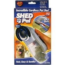 Shed Pal Pet vacuum -Cordless- Hair Collection Canister-Pet Groom-Pet supplies $7.99