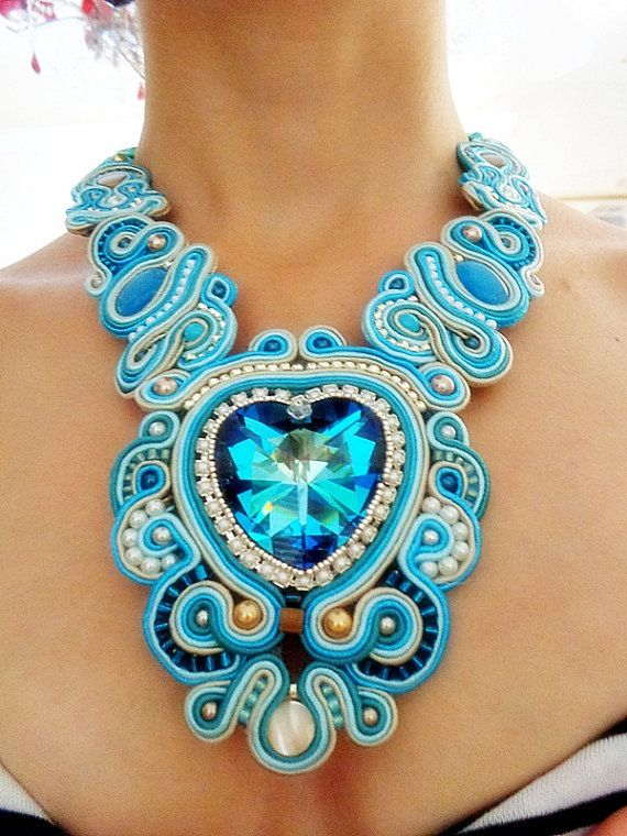 Hey, I found this really awesome Etsy listing at https://www.etsy.com/listing/161949435/soutache-fairy-necklace-wedding-soutache