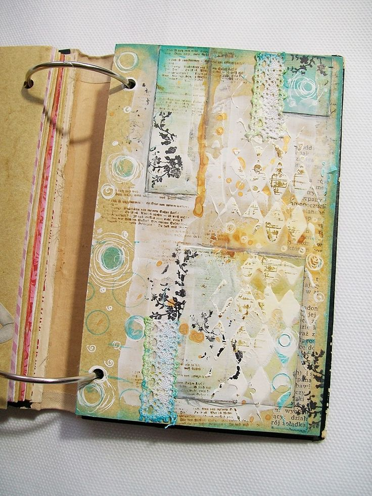 JaMajka. These binder journals make a lot of sense for ease of drying and being able to reorder pages, etc. But I miss the continuous connection of the two pages. I would love to hear some pros and cons on this! ~CAWeStruck