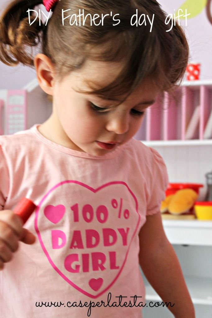 Regalo fai da te per la festa del papa * DIY gift for Father's day. printable teeshirt