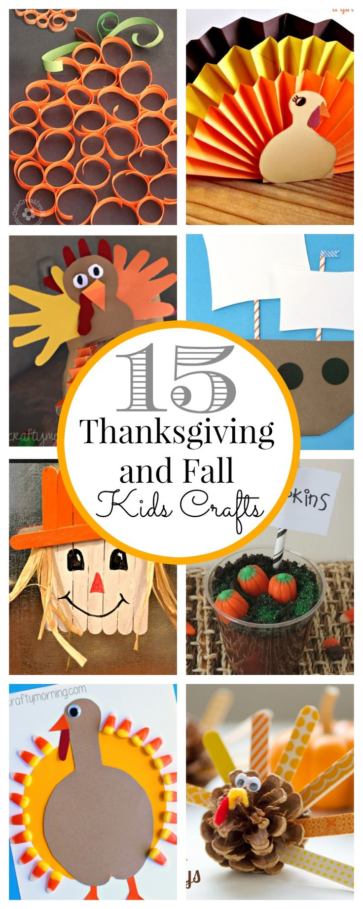 I love Thanksgiving and I feel like it gets a little over looked. I don't normally do a lot of decor for Thanksgiving. But I do want to do a few kids crafts. I know they will love it. Here are just a few of the crafts I have found that I love.