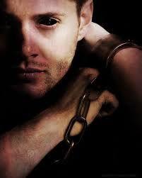 demon dean in chains