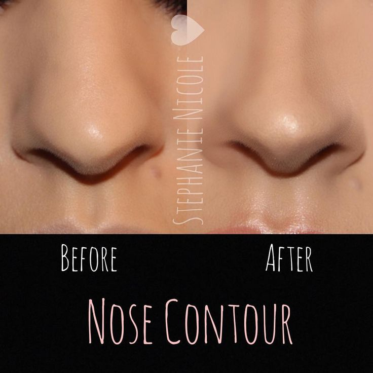 """✨Nose Contour✨  Using a few products can help alter the look of your nose. -Products used: - @lagirlcosmetics Beautiful Bronze concealer to contour -…"""