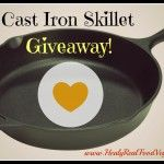 12-Inch Cast Iron Skillet Giveaway!