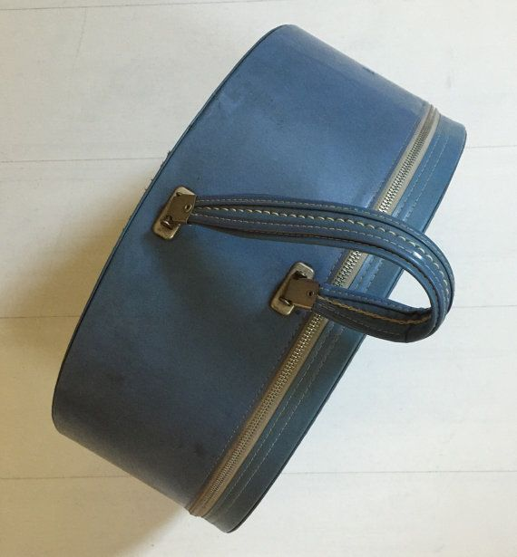 1950er Jahre Travins Hut Box Koffer Vintage Gepäck von OddTwin
