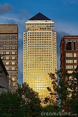 One Canada Square, Canary Wharf, Isle of Dogs, London, UK