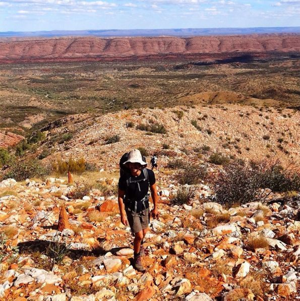 Larapinta Trail, West MacDonnell Ranges, Northern Territory